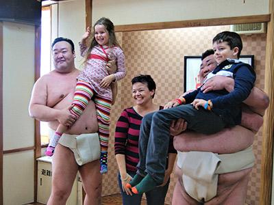 相撲アトラクション