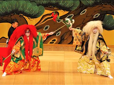 歌舞伎 連獅子 kabuki