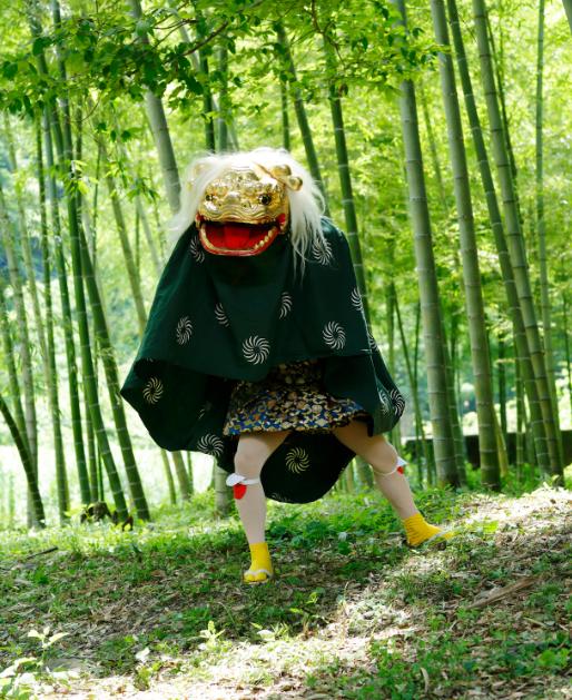 獅子舞(亀鶴屋) shishimai
