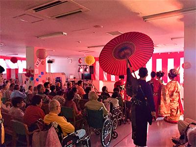 美桜座 デイケアサービス-夏祭り2019