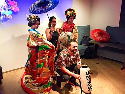 美桜座 訪日外国人パーティー