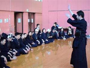 剣道体験②