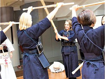 剣道体験④